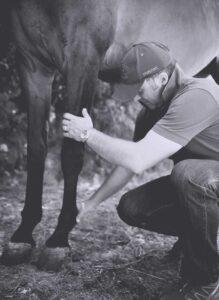 Lorenzo d'Arpe Medico Veterinario è esperto di laminite nel cavallo, navicolite e in tutte le patologie del piede del cavallo. Come evitare un cavallo zoppo occupandosi della cura del piede del cavallo